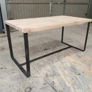 mesa de hierro industrial de www.fabricadeforja.es
